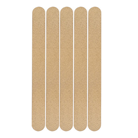 Diane - Shaping Emery Board File 80/80 grit - 5-Pack - Gold