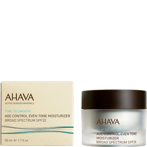 Ahava - Time to Smooth - Age Control Even Tone Moisturizer SPF20