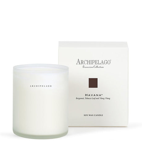 Archipelago Botanicals - Excursion Collection Boxed Candle