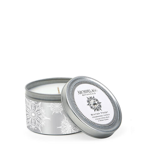 Archipelago Botanicals - Winter Frost Travel Tin Candle