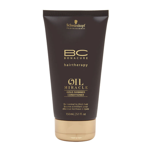 7bc75541a0 Schwarzkopf BC Bonacure Oil Miracle Gold Shimmer Conditioner – New Company  Beauty Supply