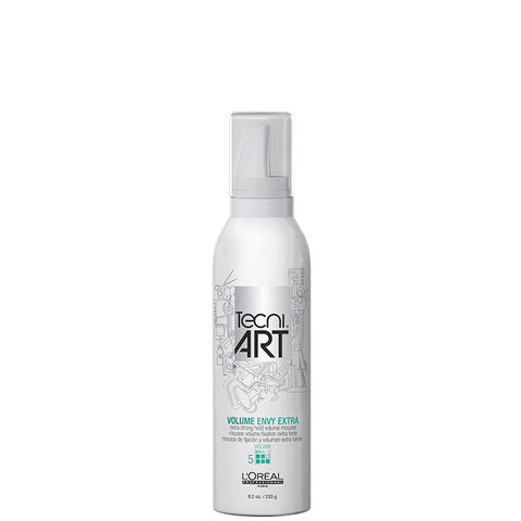 L'Oreal - Tecni Art - Volume Envy Extra Strong Hold Volume Mousse