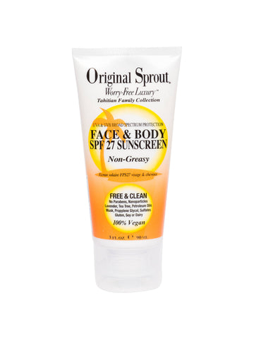 Original Sprout - Face & Body SPF 27 Sunscreen