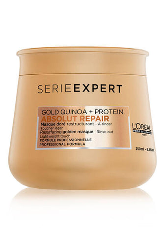 L'Oreal - Gold Quinoa + Protein Absolut Repair Masque