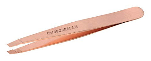 Tweezerman - Stainless Steel Slant Tweezer Rose Gold