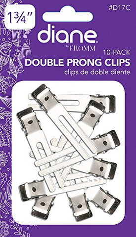 Diane - Double Prong Clips