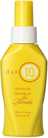 It's a 10 - Miracle Leave-in for Blondes Conditioner
