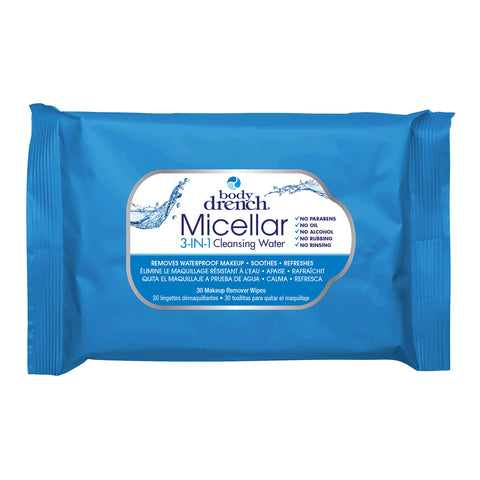 Body Drench - Micellar 3-in-1 Cleansing Water Wipes