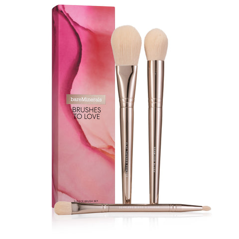 bareMinerals - Brushes To Love 3-Piece Brush Set