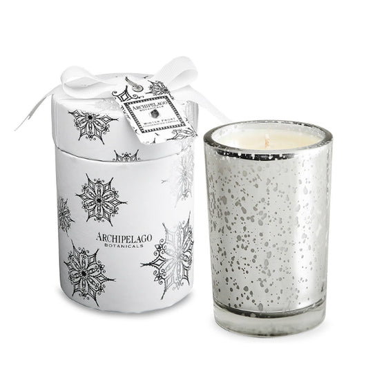 Archipelago Botanicals - Winter Frost Round Boxed Candle
