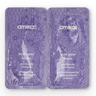 Amika - Bust Your Brass Duo Shampoo and Conditioner Sachet