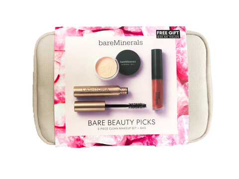 bareMinerals - Bare Beauty Picks 3-Piece Set + Bag