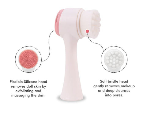 Diane - Dual Sided Face Cleansing Brush