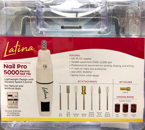 Latina - Electric Nail File Nail Pro 5000