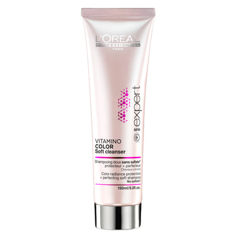 L'Oreal - Vitamino Color Soft Cleanser Color Radiance Protection + Perfecting Soft Shampoo