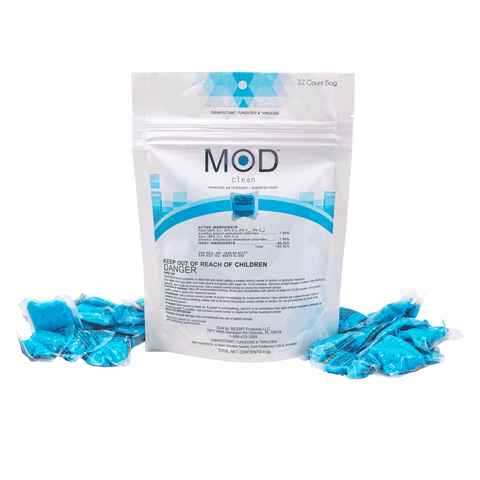 Mod Clean - Powder Detergent / Disinfectant Pods