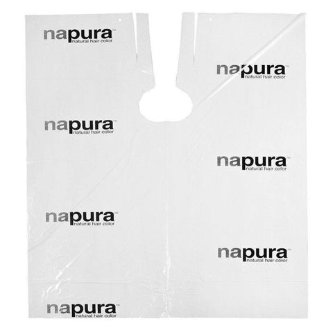 Napura - Disposable Plastic Cape White