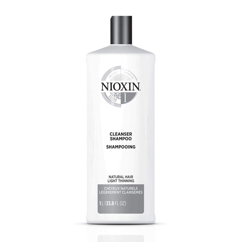 Nioxin - Cleanser System 1 Shampoo for Natural Hair with Light Thinning