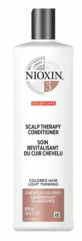 Nioxin - Scalp Therapy Conditioner System 3 for Color Treated Hair with Light Thinning