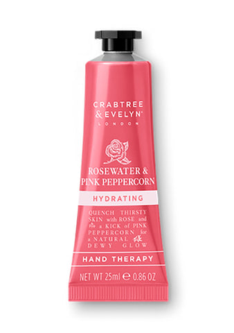 Crabtree & Evelyn - Rosewater & Pink Peppercorn - Hand Therapy