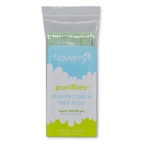 Flowery - Purifiles Sanitizable Nail File Tapered 100/180 grit - 2209