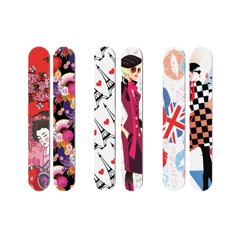 Flowery - 4 in 1 Nail File Catty