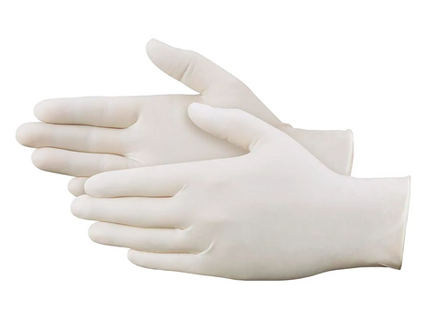 Diane - Powder-Free Latex Gloves - White