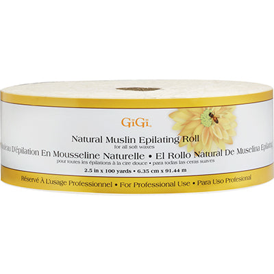 GiGi - Natural Muslin Epilating Roll