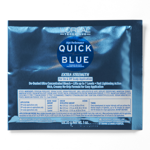 L'Oreal - Quick Blue High Performance Packette Powder Lightener
