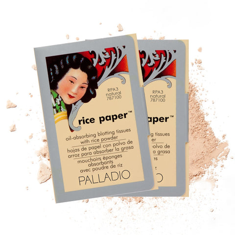 Palladio - Rice Paper Tissues Face Blotting Sheets