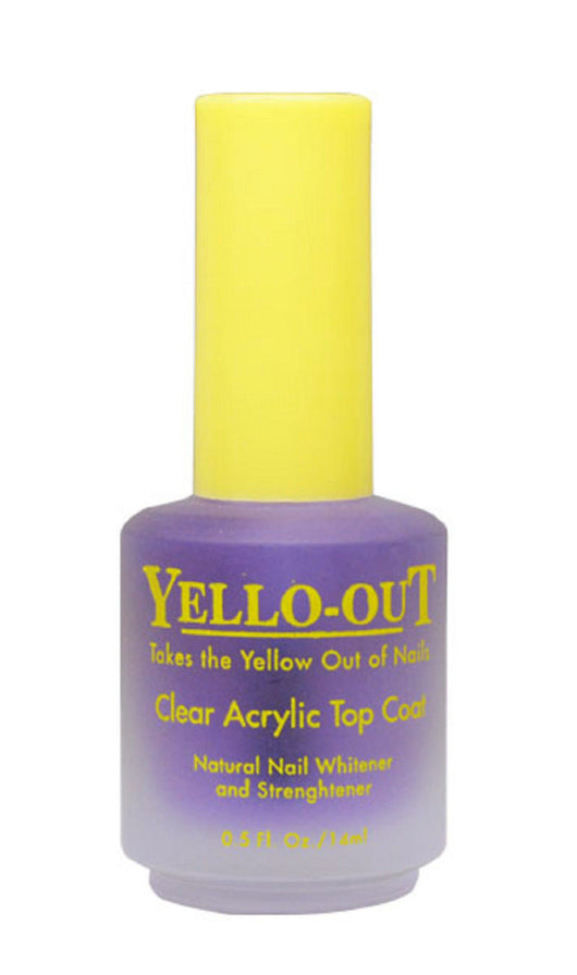 Yellow-Out - Clear Acrylic Top Coat – New Company Beauty Supply