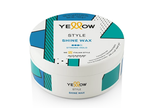 Yellow - Style - Shine Wax Strong Hold
