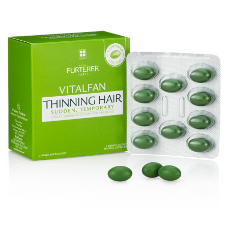 Rene Furterer - Vitalfan Dietary Supplement Sudden, Temporary Thinning Hair