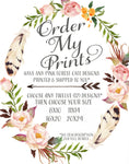 Order My Print - Pink Forest Cafe - 12 (Twelve) Prints - 12 Designs Printed and Shipped