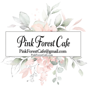 Order My Print - Pink Forest Cafe - 5 (Five) Prints - 5 Designs Printed and Shipped