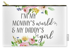 Boho Mommy's World Daddy's Girl - Carry-All Pouch