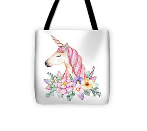 Magical Watercolor Unicorn - Tote Bag