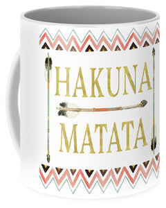 Tribal Arrow Gold Hakuna Matata - Mug