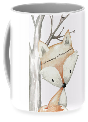Woodland Fox Boho Baby Nursery Decor - Mug