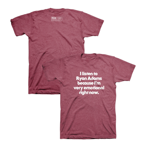 Emotional Tee - Ryan Adams Store