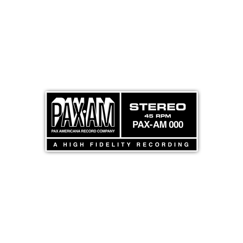 PaxAm Enamel Pin - Ryan Adams