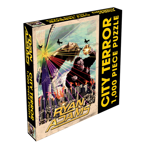 City Terror Puzzle - Ryan Adams Store