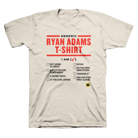 Generic Tee - Ryan Adams