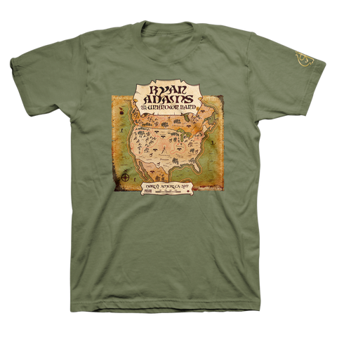 2017 US Tour Tee - Ryan Adams