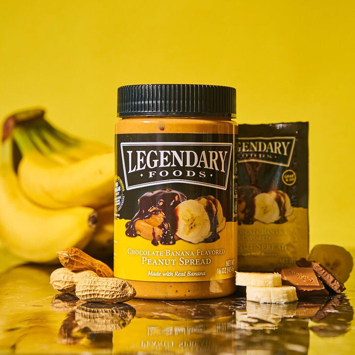 The Power of Chocolate Banana Peanut Butter!
