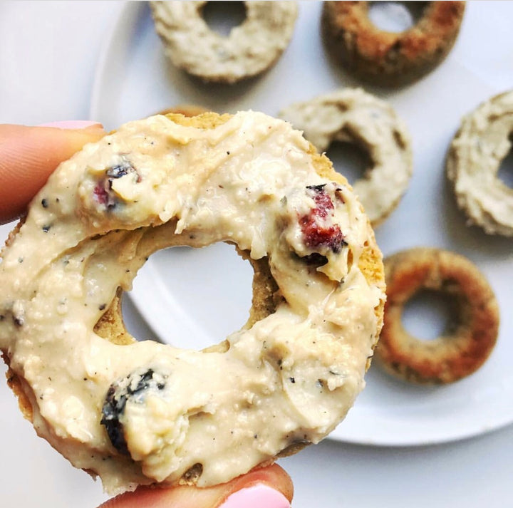 Legendary Foods Blueberry Banana Bread Pronuts by @fitandwellmedgal