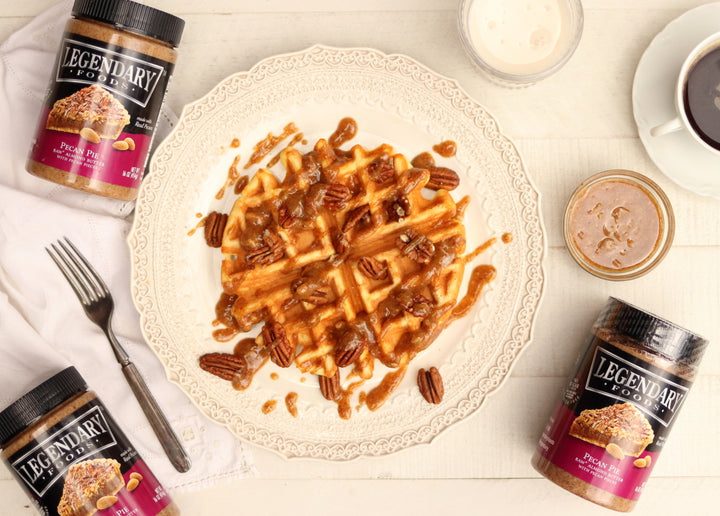 Legendary Foods Keto Pecan Pie Waffles by Maria Emmerich (Keto Adapted)