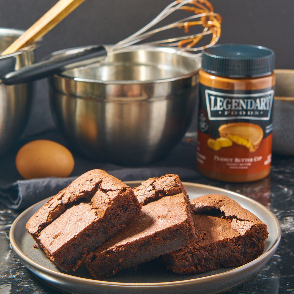 Legendary Foods Chocolate Peanut Butter Brownies