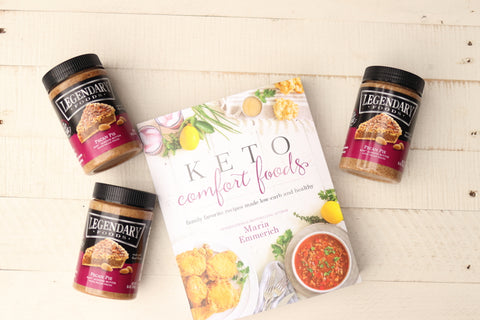 Keto Comfort Foods by Maria Emmerich (Keto Adapted)
