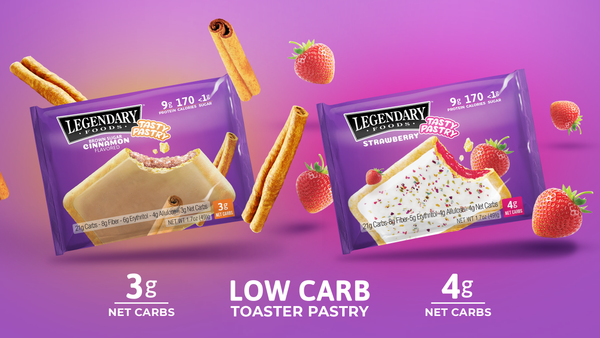 low carb pop tarts toaster pastries